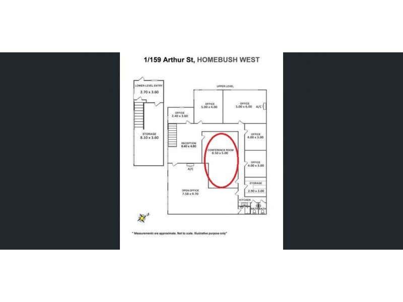 1/159 Arthur St Homebush West NSW 2140 - Floor Plan 1
