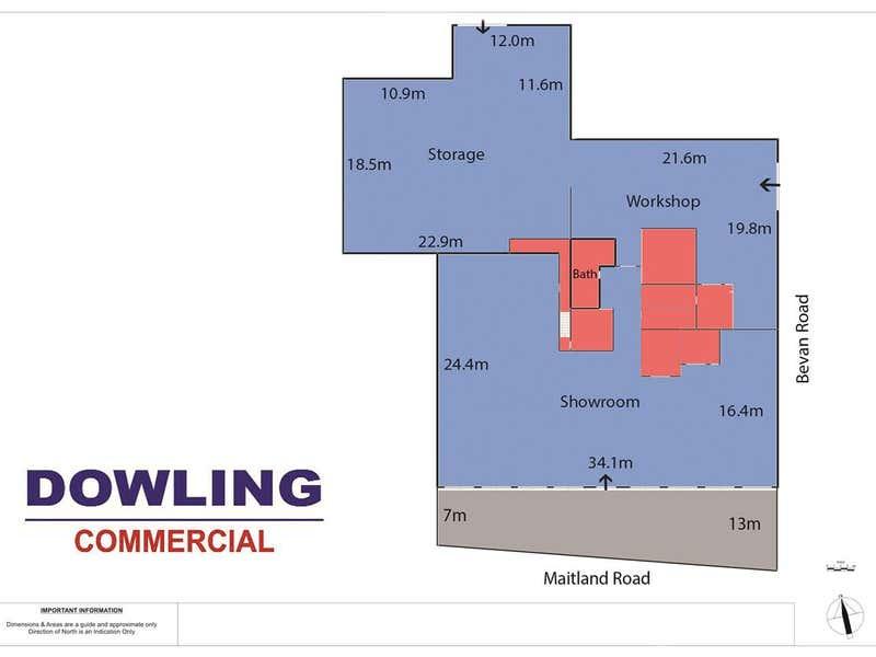 208 Maitland Road Islington NSW 2296 - Floor Plan 1