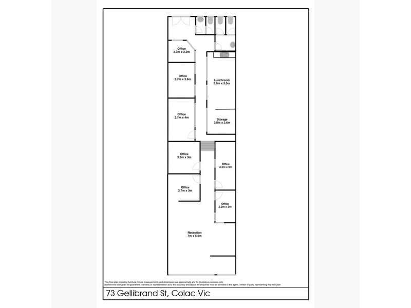 73 Gellibrand Street Colac VIC 3250 - Floor Plan 1