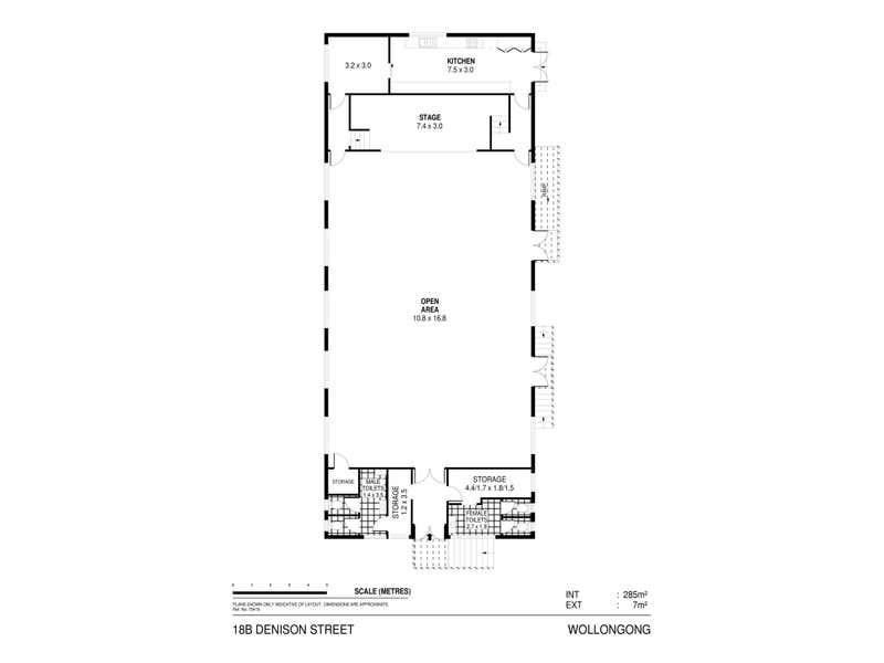 18B Denison Street Wollongong NSW 2500 - Floor Plan 1