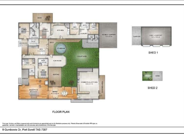 9 Gumbowie Drive Port Sorell TAS 7307 - Floor Plan 1