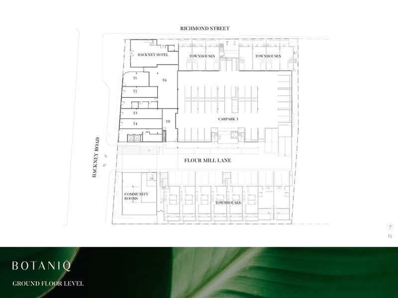 Botaniq by V Three, 95 Hackney road Hackney SA 5069 - Floor Plan 1