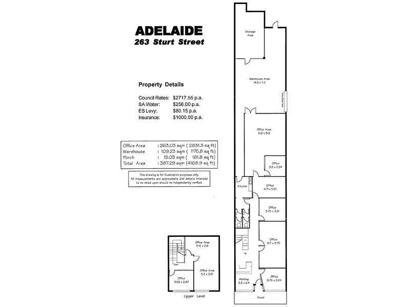 263 Sturt Street Adelaide SA 5000 - Floor Plan 1