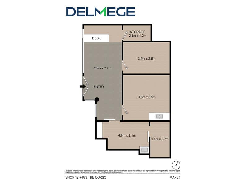 Lot 12, 74-78 The Corso Manly NSW 2095 - Floor Plan 1