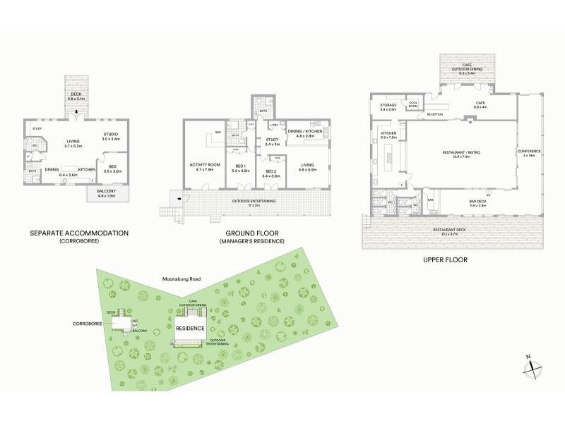 610 Moonabung Road Vacy NSW 2421 - Floor Plan 1