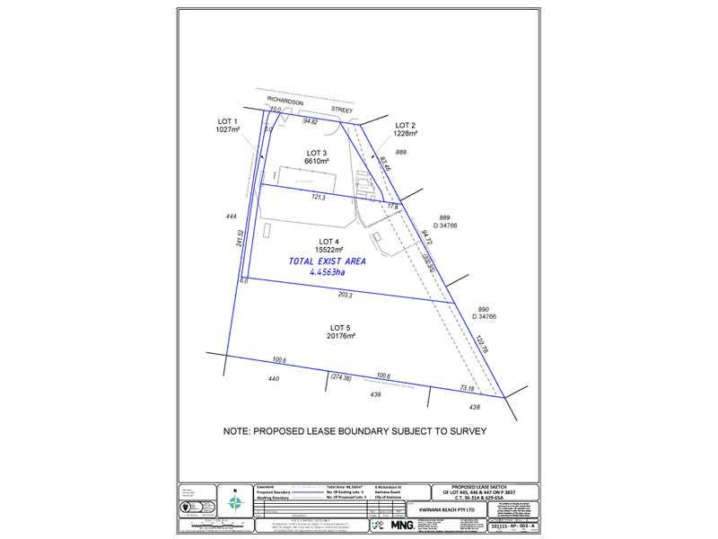 8 Richardson Street Kwinana Beach WA 6167 - Floor Plan 1