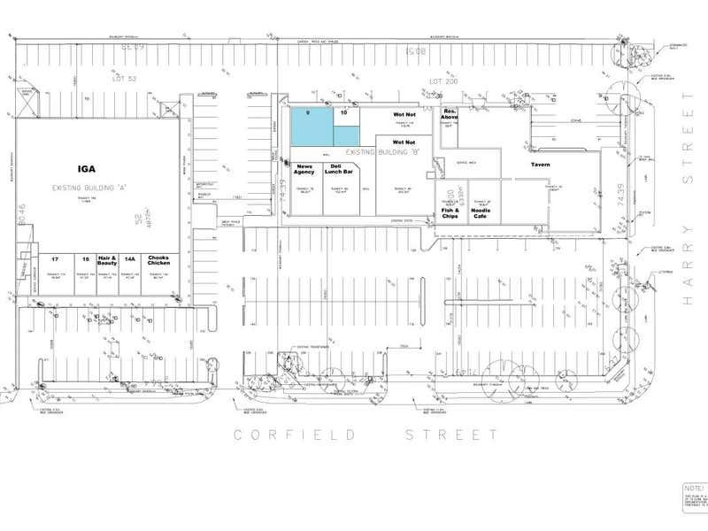 Corfield Shopping Centre, 288 Corfield Street Gosnells WA 6110 - Floor Plan 1