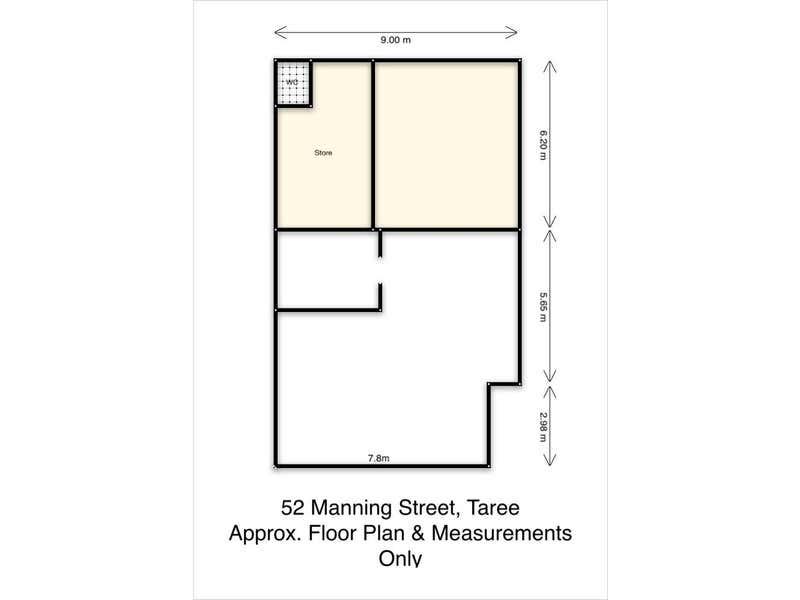 52 Manning Street Taree NSW 2430 - Floor Plan 1