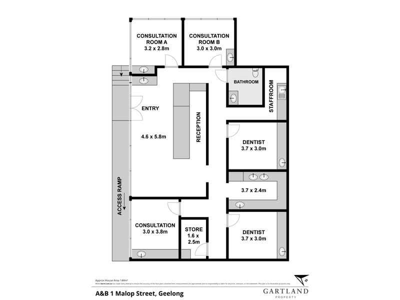 1 A & B Malop Street Geelong VIC 3220 - Floor Plan 1