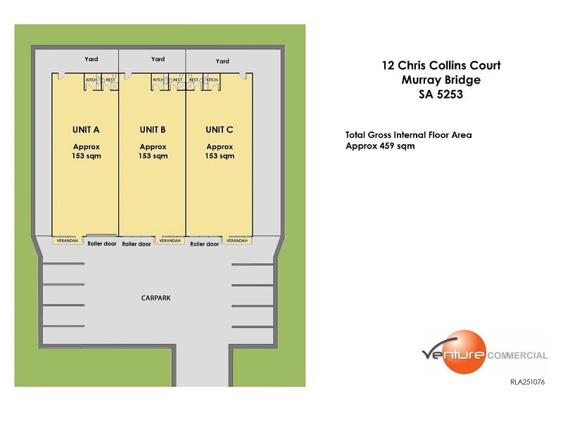 12 Chris Collins Court Murray Bridge SA 5253 - Floor Plan 1