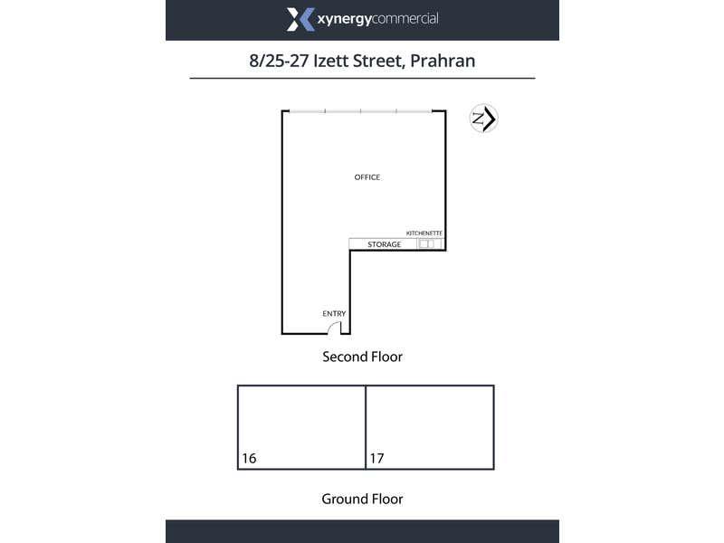 8/25 Izett Street Prahran VIC 3181 - Floor Plan 1