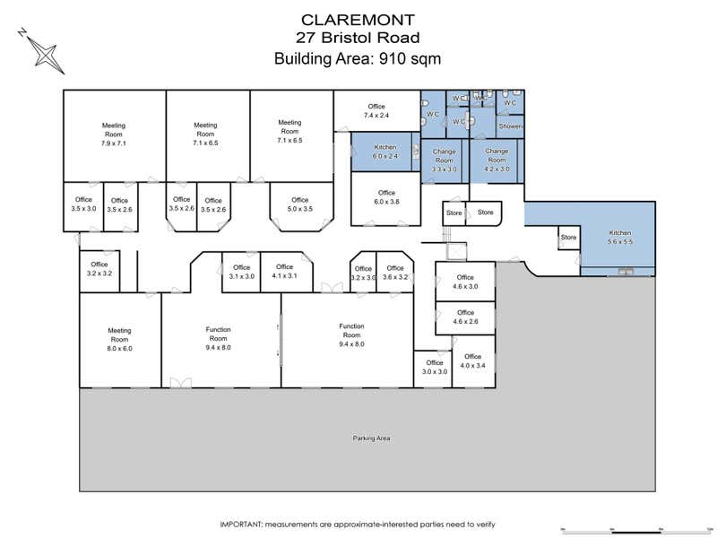 27 Bristol Road Claremont TAS 7011 - Floor Plan 1