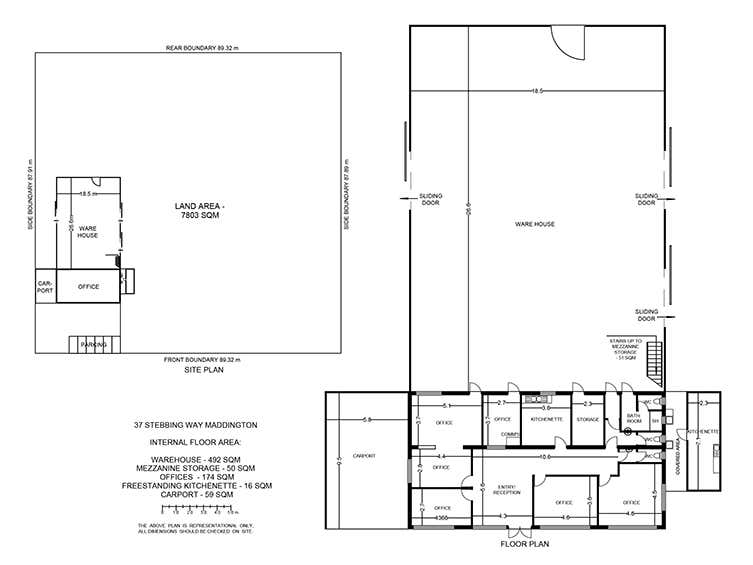 37 Stebbing Road Maddington WA 6109 - Floor Plan 1