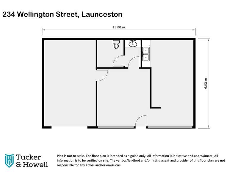234 Wellington Street South Launceston TAS 7249 - Floor Plan 1