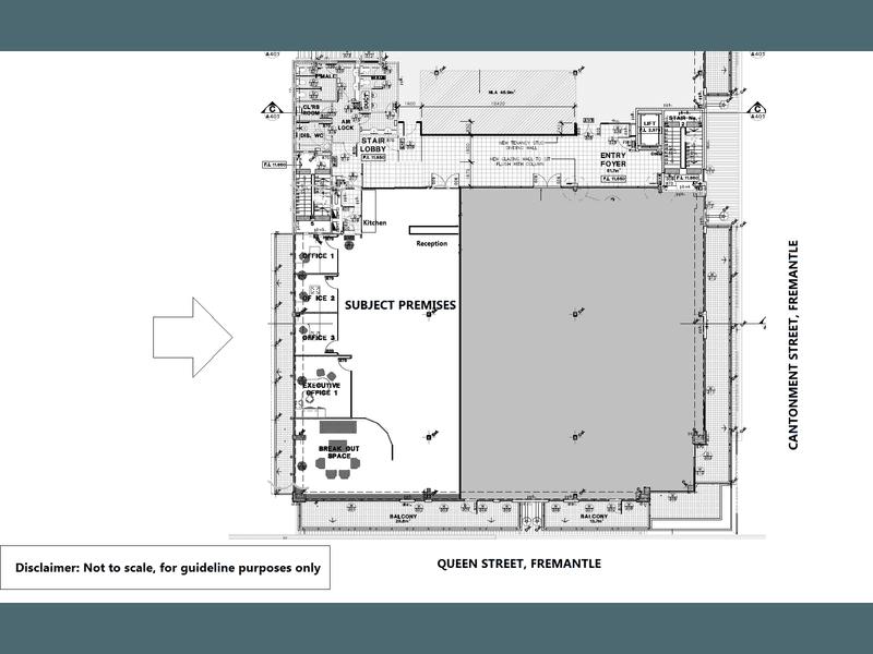 Q&A Centre, 2/25 Cantonment Street Fremantle WA 6160 - Floor Plan 1