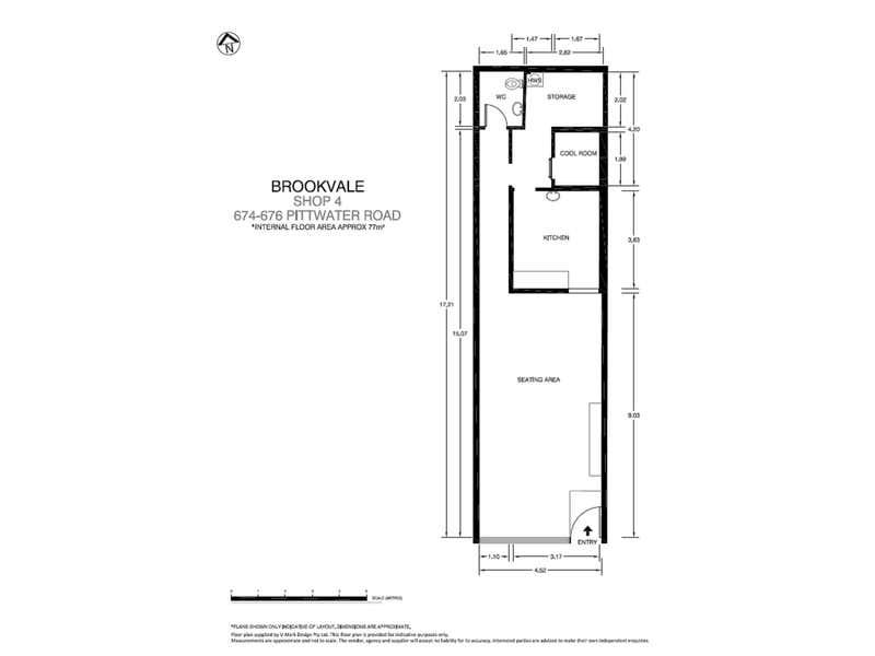 4/4/674 Pittwater Road Brookvale NSW 2100 - Floor Plan 1