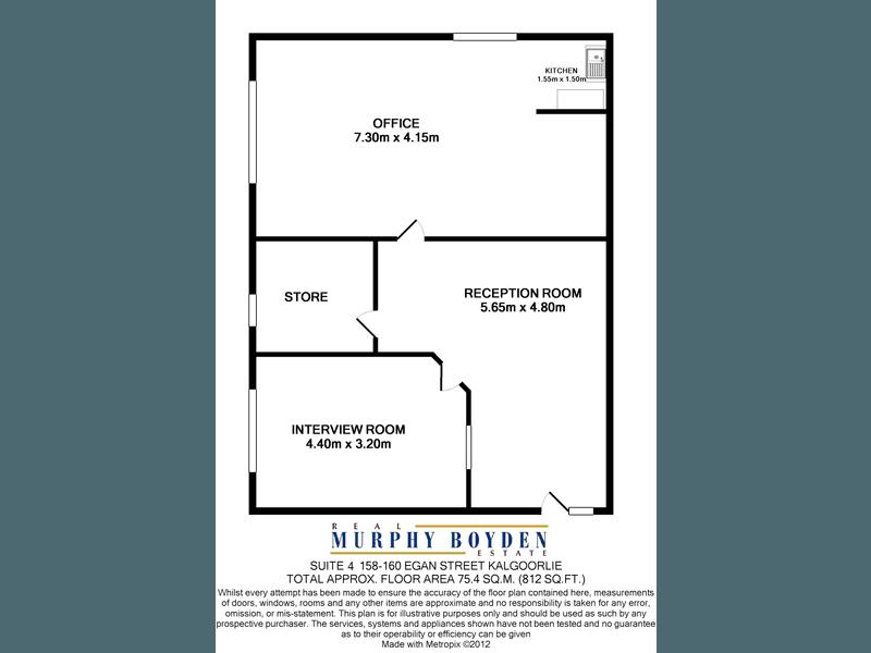 4/158-160 Egan Street Kalgoorlie WA 6430 - Floor Plan 1