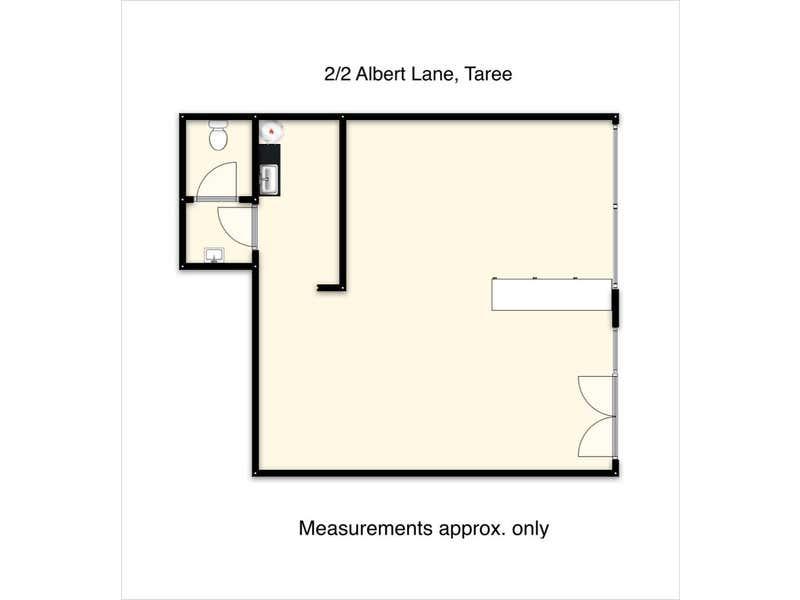 2/2 Albert Lane Taree NSW 2430 - Floor Plan 1