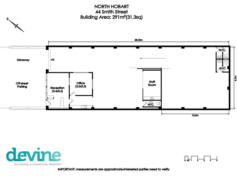 44 Smith Street North Hobart TAS 7000 - Floor Plan 1