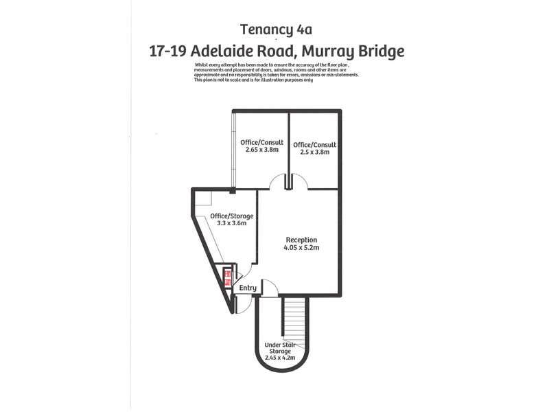 Ten. 4a 17-19 Adelaide Road Murray Bridge SA 5253 - Floor Plan 1