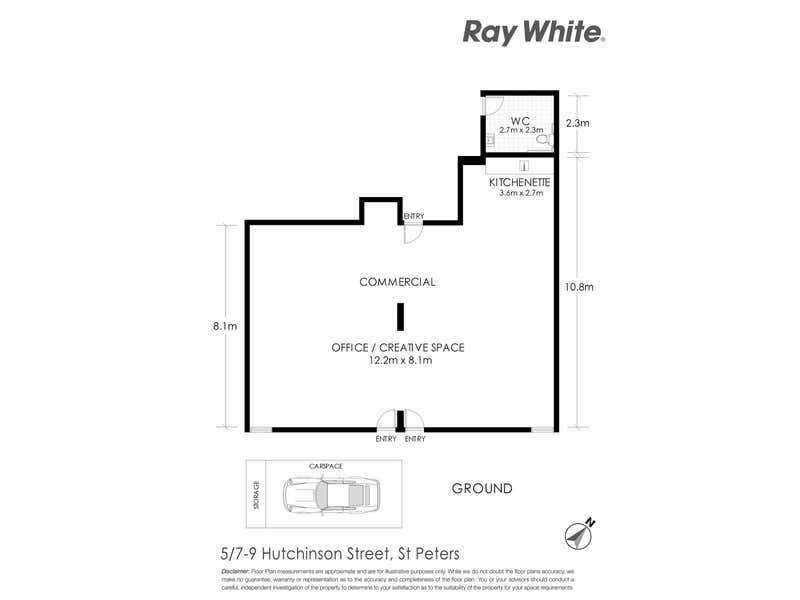 5/7-9 Hutchinson Street St Peters NSW 2044 - Floor Plan 1