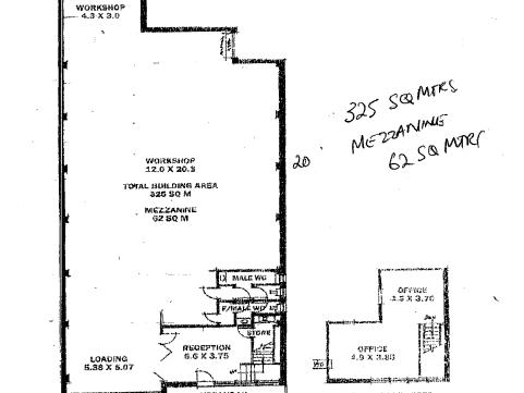 Large Warehouse, 13 Henry Street Stepney SA 5069 - Floor Plan 1
