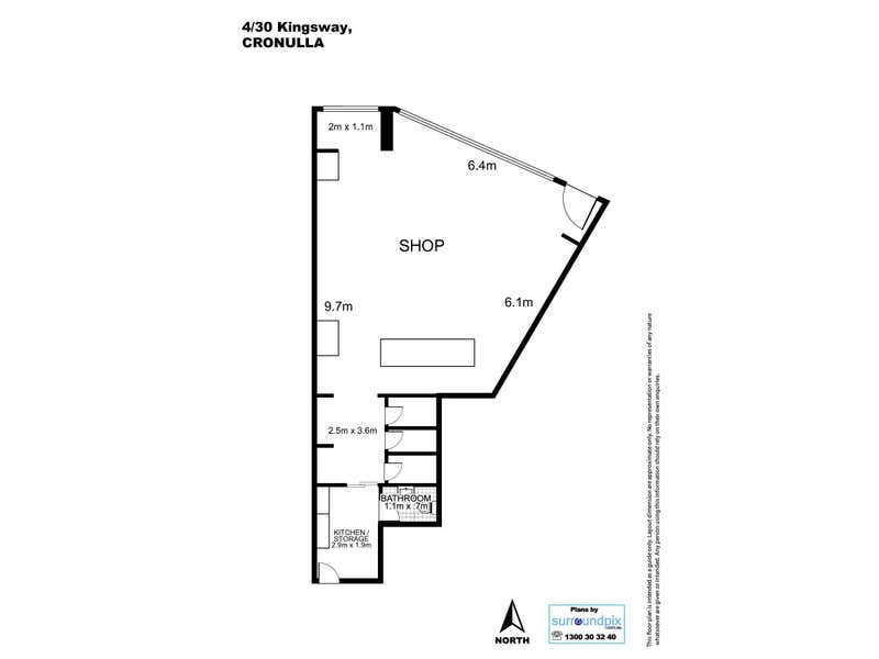 Delfino Building, 4/30 Kingsway Cronulla NSW 2230 - Floor Plan 1