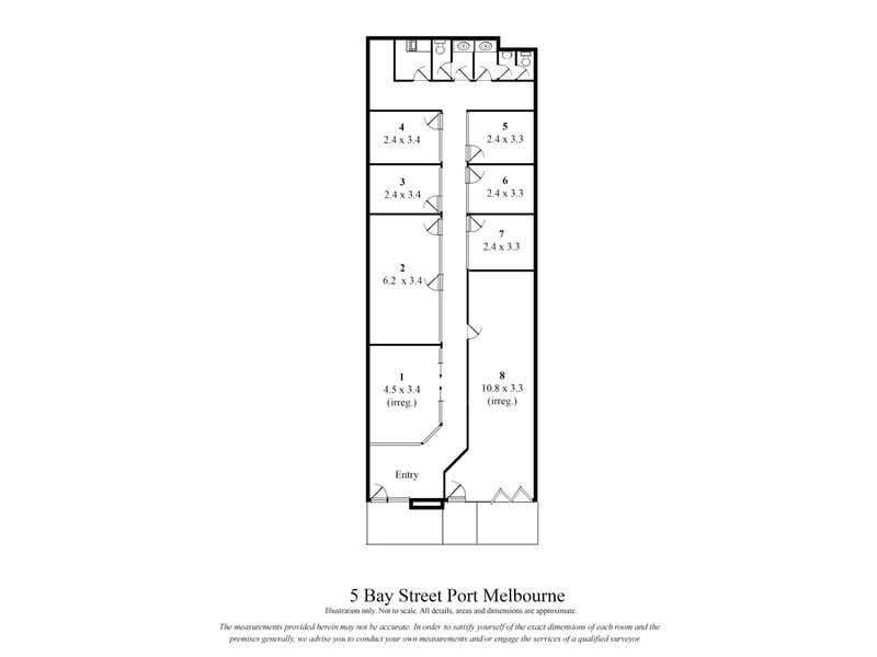 5 Bay Street Port Melbourne VIC 3207 - Floor Plan 1