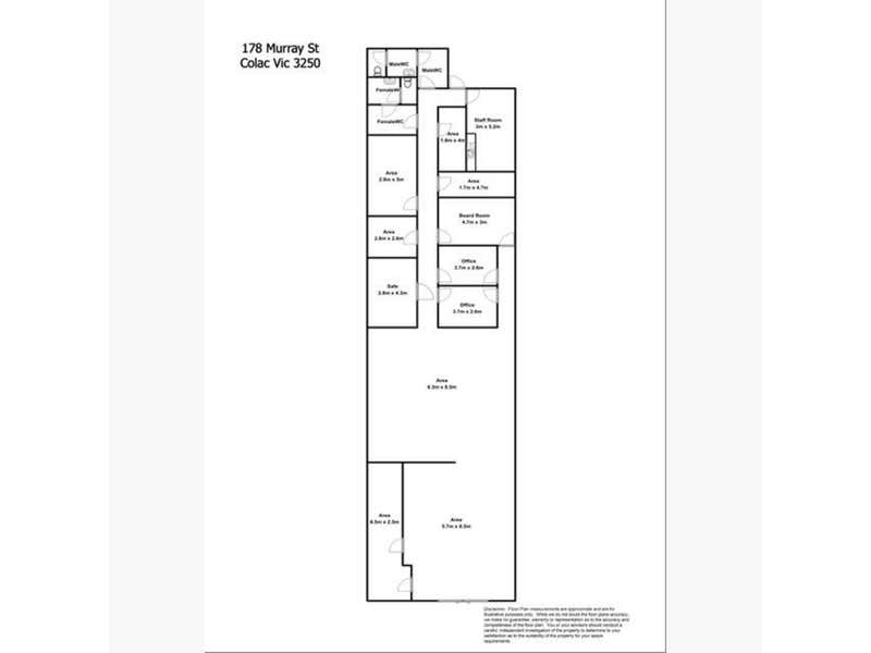 178 Murray Street Colac VIC 3250 - Floor Plan 1