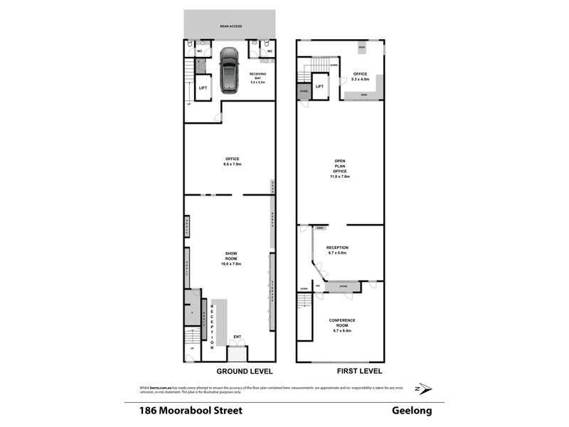 186 Moorabool Street Geelong VIC 3220 - Floor Plan 1