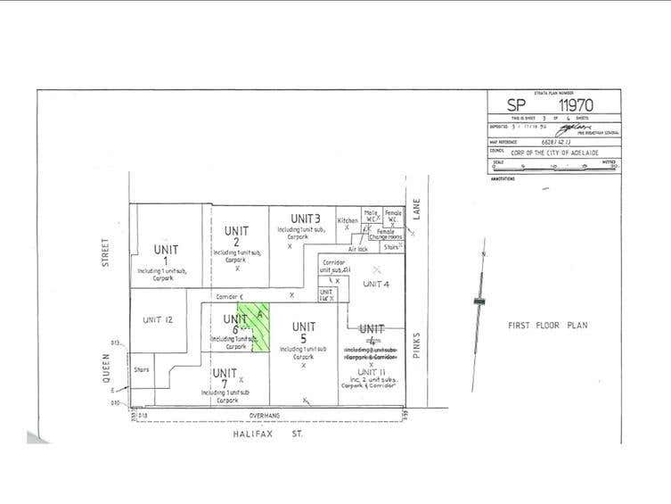 BICYCLE EXPRESS, Unit 6 office 3 and 4, 118 Halifax St Adelaide SA 5000 - Floor Plan 1