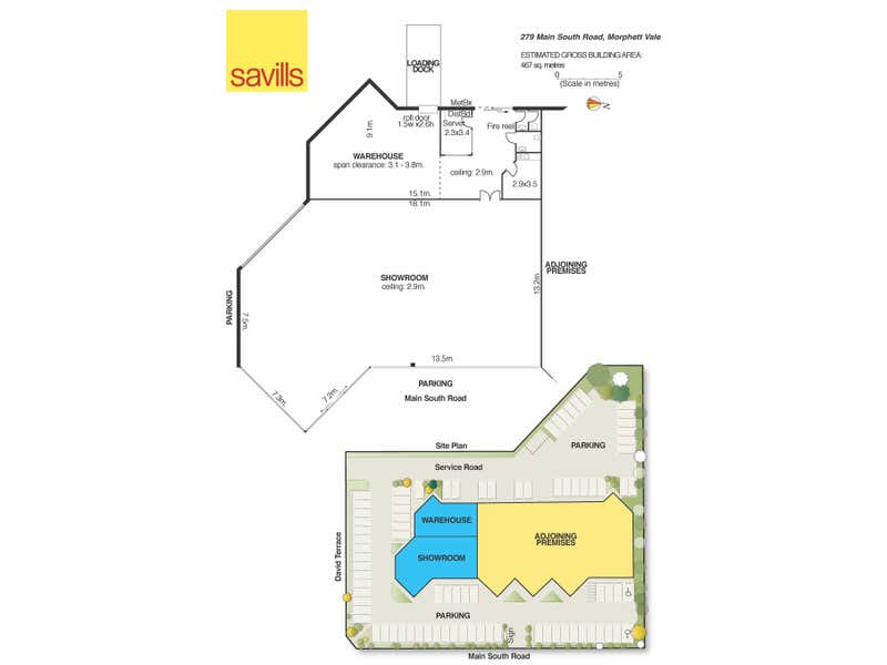 Unit 4, 279 Main South Road Morphett Vale SA 5162 - Floor Plan 1