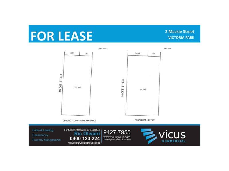 2 Mackie Street Victoria Park WA 6100 - Floor Plan 1