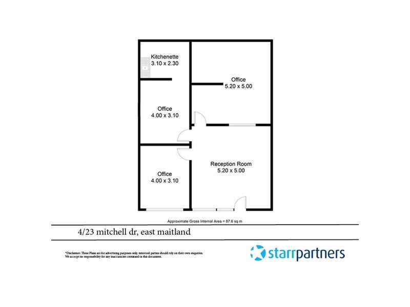 4/23 Mitchell Drive East Maitland NSW 2323 - Floor Plan 1