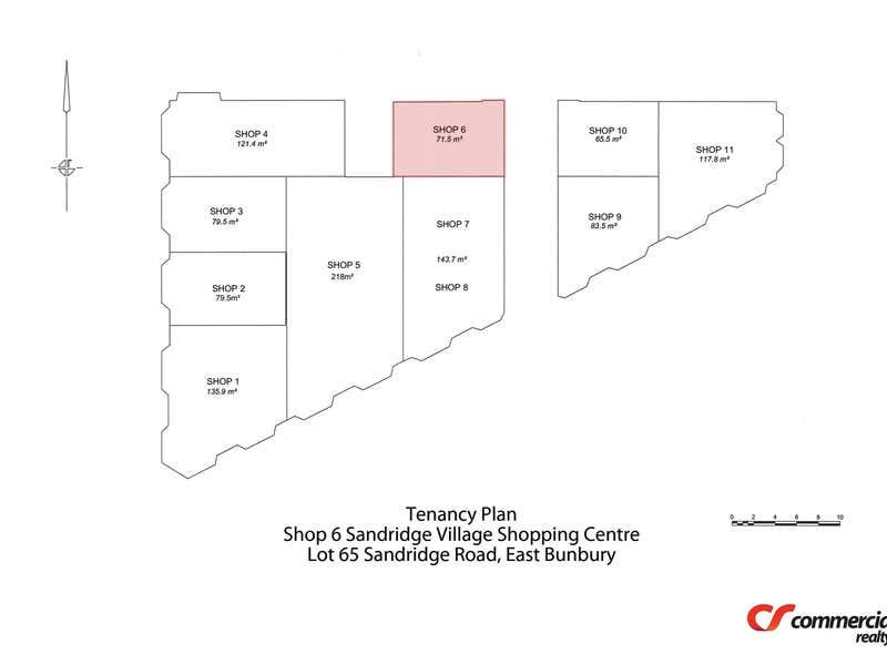 Shop 6, Lot 65 Sandridge Road East Bunbury WA 6230 - Floor Plan 1