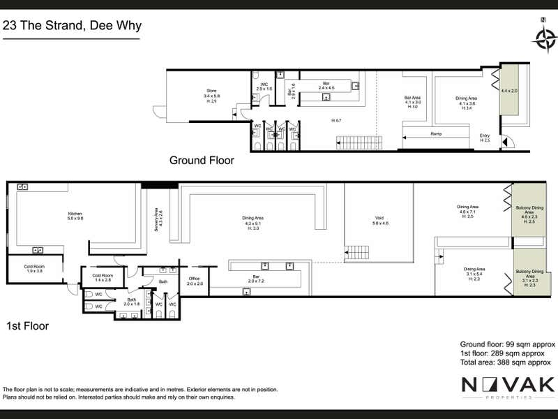 2/23 The Strand Avenue Dee Why NSW 2099 - Floor Plan 2