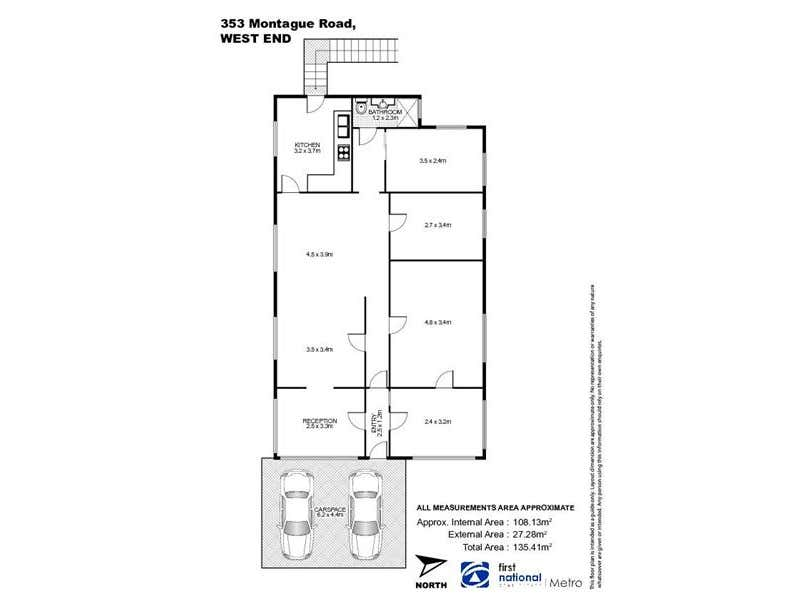 349-353 Montague Road West End QLD 4101 - Floor Plan 1