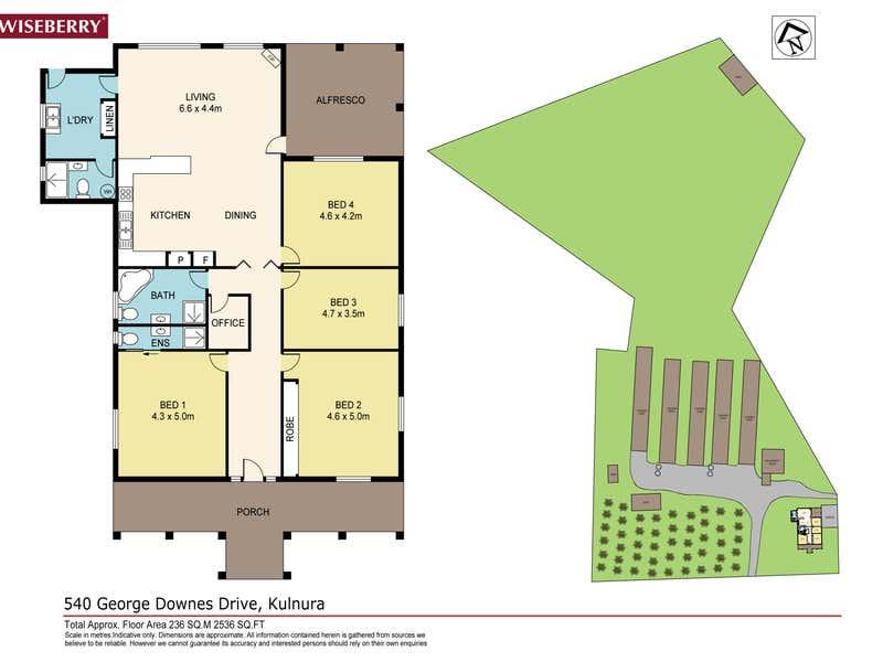 540 George Downes Drive Kulnura NSW 2250 - Floor Plan 1