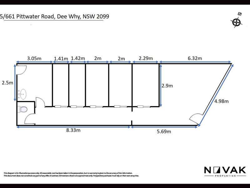 5/661 Pittwater Road Dee Why NSW 2099 - Floor Plan 1