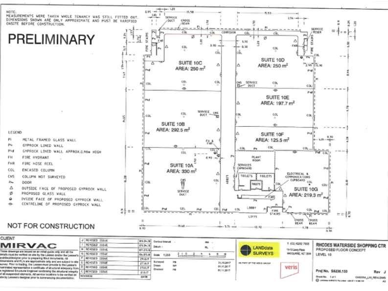 1 Rider Boulevard Rhodes NSW 2138 - Floor Plan 1