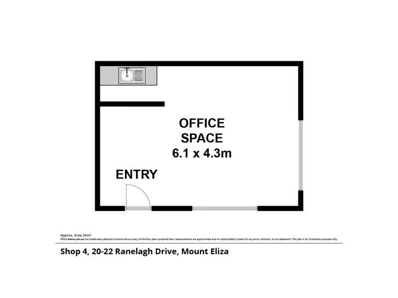 4/20 Ranelagh Drive Mount Eliza VIC 3930 - Floor Plan 1