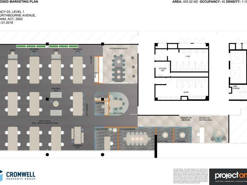 243 Northbourne Avenue Lyneham ACT 2602 - Floor Plan 2
