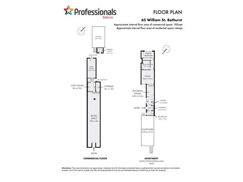 65 William Street Bathurst NSW 2795 - Floor Plan 1