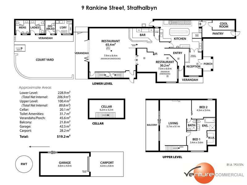 9 Rankine Street Strathalbyn SA 5255 - Floor Plan 1