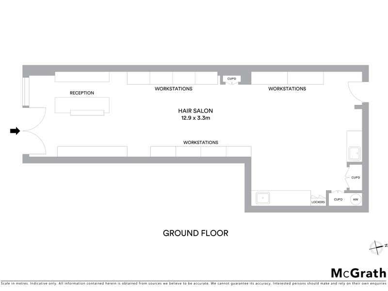 Appassionata Hair Design, 3/43 Avoca Drive Kincumber NSW 2251 - Floor Plan 1