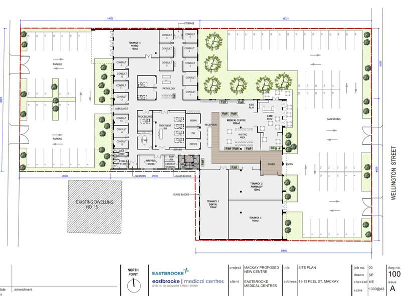 Eastbrooke Health Hub, 22 Wellington St Mackay QLD 4740 - Floor Plan 1