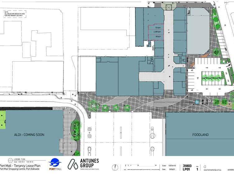 Port Mall, Shop 8, 168-178 St Vincent Street Port Adelaide SA 5015 - Floor Plan 1