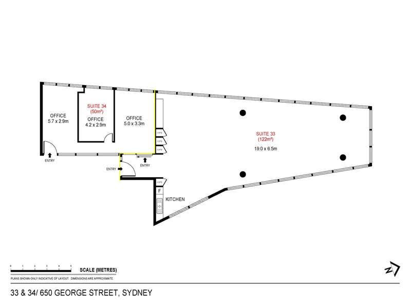 650 George Street Sydney NSW 2000 - Floor Plan 1