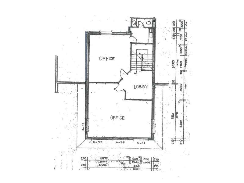 FIRST FLOOR OFFICE SPACE IN CENTRAL NORTH PERTH, 17 Howlett Street North Perth WA 6006 - Floor Plan 1
