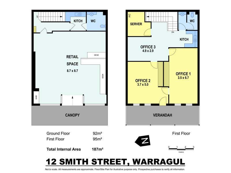 12 Smith Street Warragul VIC 3820 - Floor Plan 1